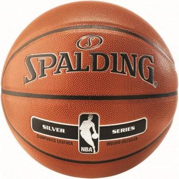 М'яч баскетбольний Spalding NBA Silver IN/OUT Size 7