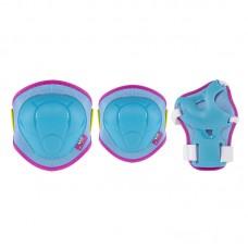 Комплект захисний Nils Extreme H106 Size S Blue/Pink