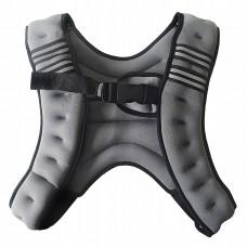 Обважнювач-жилет Sport Shiny 10 кг SS6057-10-GR Grey