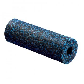 Масажний ролик (валик, роллер) гладкий 4FIZJO EPP PRO+ 45 x 14.5 см 4FJ1141 Black/Blue
