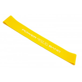 Резинка для фітнесу та спорту (стрічка-еспандер) 4FIZJO Mini Power Band 0.8 мм 5-10 кг 4FJ0011
