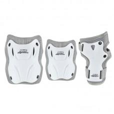 Комплект захисний Nils Extreme H407 Size L White/Grey