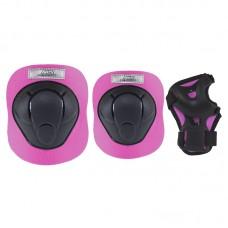 Комплект захисний Nils Extreme H210 Size XS Black/Pink