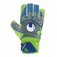 Воротарські рукавички Uhlsport Tensiongreen Soft SF Junior Size 4 Green/Blue
