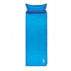 Самонадувний коврик Nils Camp NC1006 186 x 65 x 2.5 см Blue