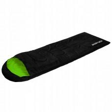 Спальний мішок SportVida SV-CC0019 Left Black/Green