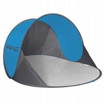 Пляжний тент SportVida 190 x 120 см SV-WS0004 Blue/Grey