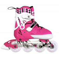 Роликові ковзани Nils Extreme NA13911A Size 35-38 Pink