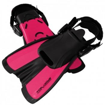 Ласти SportVida SV-DN0008JR-M Size 34-38 Black/Pink
