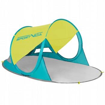 Пляжний тент SportVida 190 x 120 см SV-WS0007 Yellow/Green