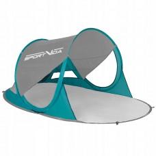 Пляжний тент SportVida 190 x 120 см SV-WS0008 Grey/Green