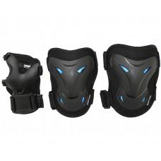Комплект захисний SportVida SV-KY0003-L Size L Black/Blue
