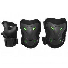 Комплект захисний SportVida SV-KY0004-M Size M Black/Green