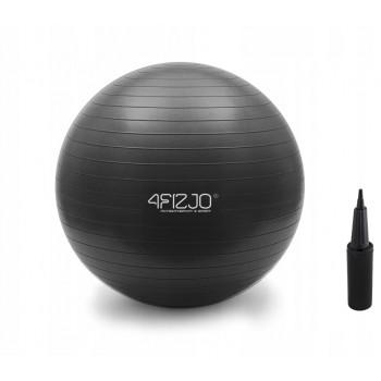 М'яч для фітнесу (фітбол) 4FIZJO 85 см Anti-Burst 4FJ0028 Black