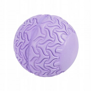 Масажний м'яч SportVida Massage Ball 13 см SV-HK0233 Purple