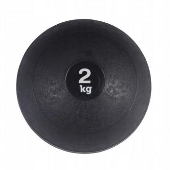 Слембол (медичний м'яч) для кросфіту SportVida Slam Ball 2 кг SV-HK0196 Black