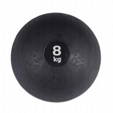Слембол (медичний м'яч) для кросфіту SportVida Slam Ball 8 кг SV-HK0199 Black
