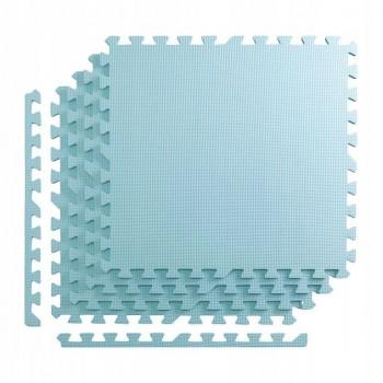 Мат-пазл (ласточкин хвіст) 4FIZJO Mat Puzzle EVA 120 x 120 x 1 cм 4FJ0073 Light Blue