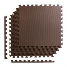 Мат-пазл (ласточкин хвіст) 4FIZJO Mat Puzzle EVA 120 x 120 x 1 cм 4FJ0074 Braun