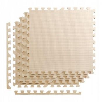 Мат-пазл (ласточкин хвіст) 4FIZJO Mat Puzzle EVA 120 x 120 x 1 cм 4FJ0075 Beige