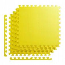 Мат-пазл (ласточкин хвіст) 4FIZJO Mat Puzzle EVA 120 x 120 x 1 cм 4FJ0076 Yellow