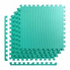 Мат-пазл (ласточкин хвіст) 4FIZJO Mat Puzzle EVA 120 x 120 x 1 cм 4FJ0077 Mint