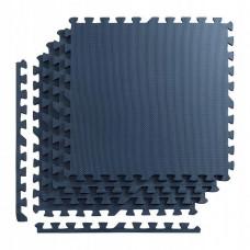 Мат-пазл (ласточкин хвіст) 4FIZJO Mat Puzzle EVA 120 x 120 x 1 cм 4FJ0078 Graphite