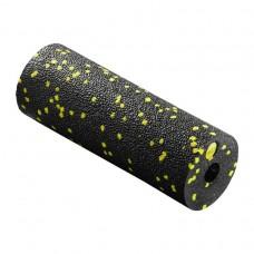 Масажний ролик (валик, роллер) 4FIZJO Mini Foam Roller 15 x 5.3 см 4FJ0081 Black/Yellow