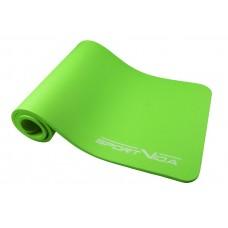 Коврик (мат) для йоги та фітнесу SportVida NBR 1 см SV-HK0248 Green