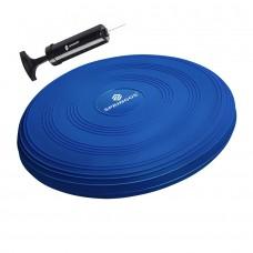 Балансувальна подушка (сенсомоторна) масажна Springos PRO FA0086 Blue