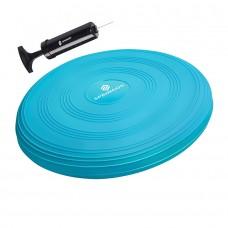 Балансувальна подушка (сенсомоторна) масажна Springos PRO FA0088 Sky Blue