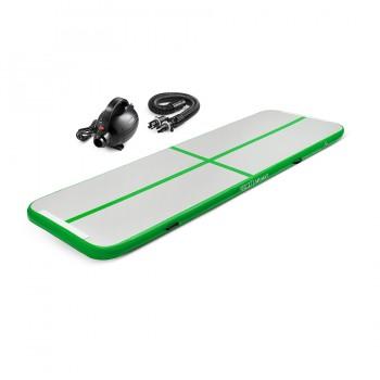 Мат гімнастичний надувний 4FIZJO Air Track Mat 400 x 100 x 10 cм 4FJ0094