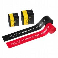 Стрічка еластична для флосингу 4FIZJO Floss Band 208 x 5 см 2 шт 4FJ0137