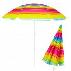 Пляжна парасолька з регульованою висотою Springos 160 см BU0005