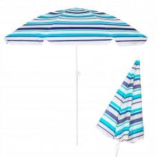 Пляжна парасолька з регульованою висотою Springos 160 см BU0006