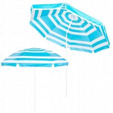 Пляжна парасолька з регульованою висотою та нахилом Springos 220 см BU0011