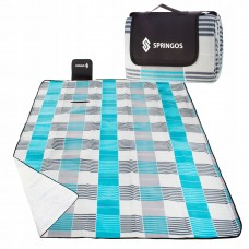 Коврик для пікніка та кемпінгу складаний Springos 200 x 200 см PM002