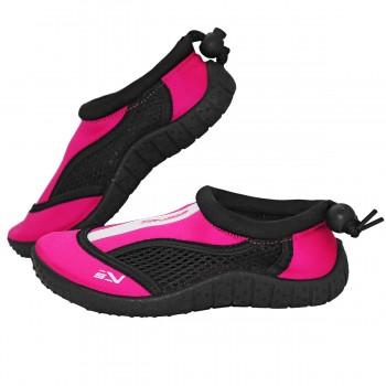 Взуття для пляжу і коралів (аквашузи) SportVida SV-GY0001-R34 Size 34 Black/Pink