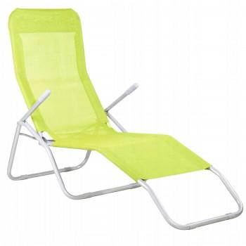 Шезлонг (лежак) для пляжу, тераси та саду Springos GC0006