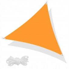 Тент-парус тіньовий для дому, саду та туризму Springos 3 x 3 x 3 м SN1019 Orange