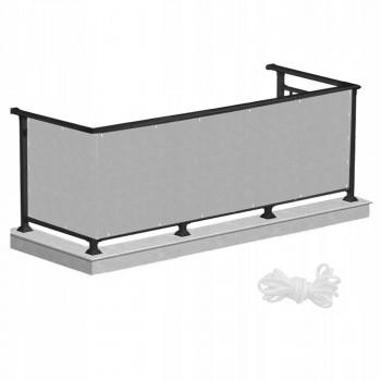 Ширма для балкона (балконна завіса) Springos 0.9 x 7 м BN1018 Grey