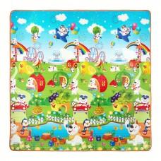 Розвиваючий дитячий килимок двосторонній 4FIZJO KIDS 180 x 180 x 1 см 4FJ0162