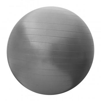 М'яч для фітнесу (фітбол) SportVida 65 см Anti-Burst SV-HK0288 Grey