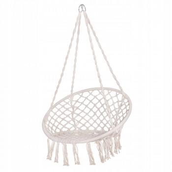 Підвісне крісло-гойдалка (плетене) Springos SPR0020 Biege