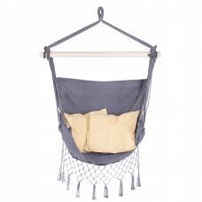 Крісло-гамак сидячий (бразильський) з подушками Springos 130 x 100 см HM012