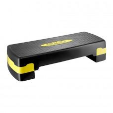 Степ-платформа 2-ступінчаста 4FIZJO 4FJ0176 Black/Yellow