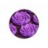 Килимок акупунктурний з подушкою 4FIZJO Eco Mat Аплікатор Кузнєцова 68 x 42 см 4FJ0181 Purple