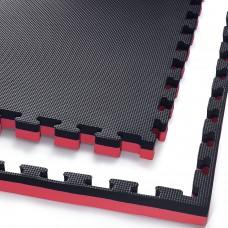 Мат-пазл (ласточкин хвіст) 4FIZJO Mat Puzzle EVA 100 x 100 x 4 cм 4FJ0199 Black/Red
