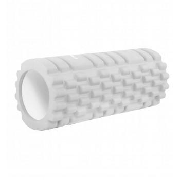 Масажний ролик (валик, роллер) Springos 33 x 14 см FR0020 Grey