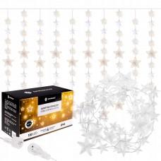 Гірлянда бахрома вулична (зовнішня) Springos 2 м 180 LED CL4004 Warm White